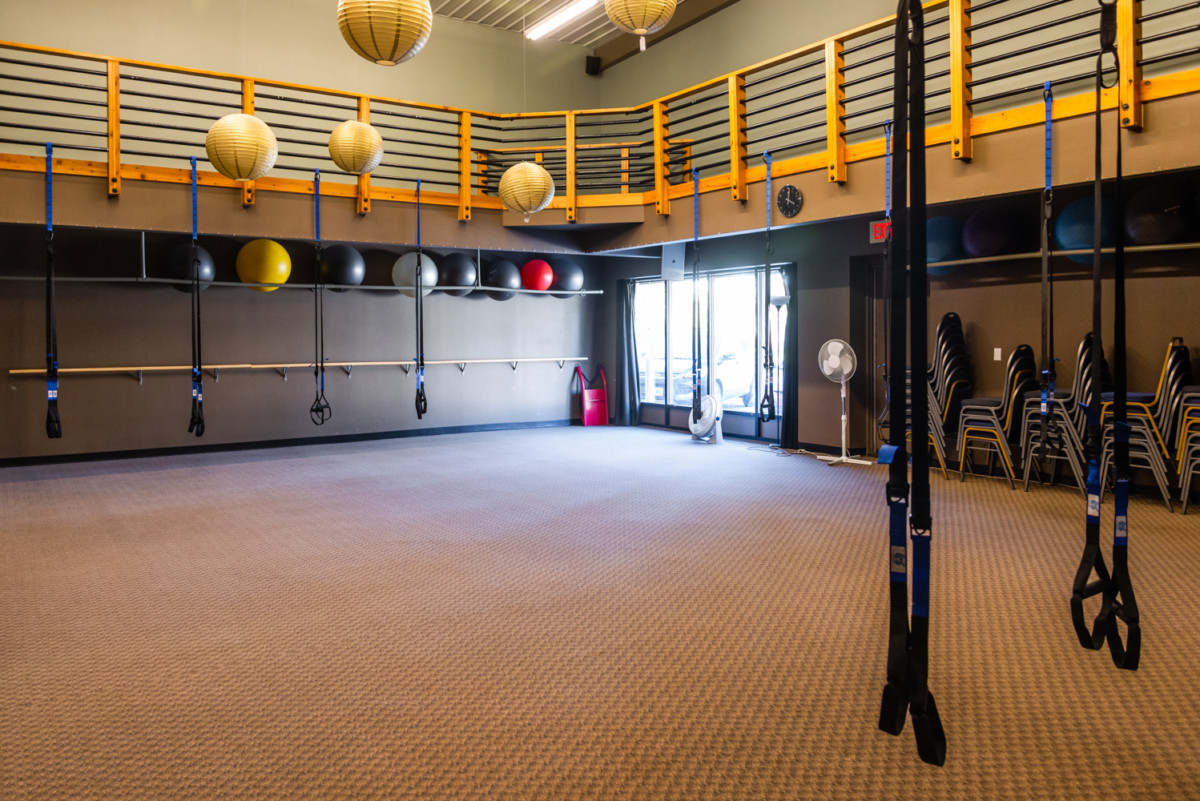 North 4 - MSH Open Group Fitness Room TRX